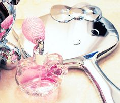hello kitty mirror and perfume