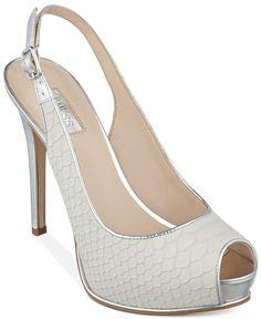 GUESS Women's Huela Platform Pumps - All Women's Shoes - Shoes - Macy's