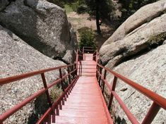 Devils Tower Tower Stairs