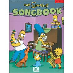9c05c5914d1ff Hal Leonard The Simpsons Songbook 2nd Edition arranged for piano