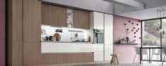 Cucine moderne in legno 2017 - Cucina lineare in legno