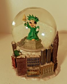 disney snowglobes and waterglobes