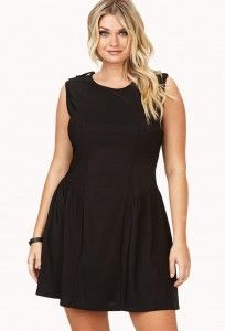 Instructions of Choosing the Right Plus Size Little Black Dress: Plus Size Little Black Womens Clothe ~ Dress Inspiration