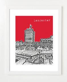 I want!  Lancaster, PA skyline.