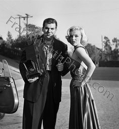 Frank Worth and Marilyn Monroe 1953