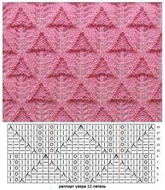 ВЯЗАНИЕ 2019 ВЯЗАНИЕ The post ВЯЗАНИЕ 2019 appeared first on Weaving ideas. Lace Knitting Stitches, Crochet Stitches Patterns, Knitting Charts, Lace Patterns, Loom Knitting, Knitting Designs, Knitting Projects, Hand Knitting, Stitch Patterns