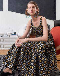 La DoubleJ Resort 2019 Fashion Show Collection: See the complete La DoubleJ Resort 2019 collection. Look 30 Fashion Week, Runway Fashion, Fashion Trends, Date Night Dresses, Summer Dresses, Resort Dresses, Street Style, Vogue Russia, Fashion Show Collection