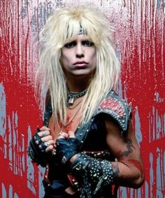 This is His Best Look ;) Vince Neil. Singer