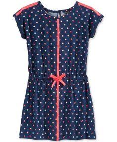 Tommy Hilfiger Girls' Printed Dress | macys.com