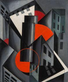 Louis Lozowick - The Charnel-House