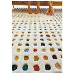 Imagen alfombra Hand Tufted Mota 2 reverso - GAN