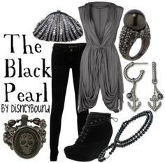 The Black Pearl  by Disneybound