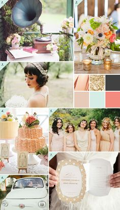 1 & 4 – Lisa O'Dwyer via OneFabDay , 2 – via EventPros , 3 & 5 – Hugh Forte via Green Wedding Shoes , 6 – Cinzia Bruschini via Green Wedding Shoes , 7 – Carla Ten Eyck via Jubilee Event