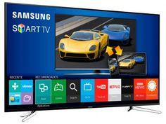 """Smart TV LED 75"""" Samsung Full HD Gamer UN75J6300 - Conversor Digital Wi-Fi 4 HDMI 3 USB com as melhores condições você encontra no Magazine Dicadeoferta. Confira!"""