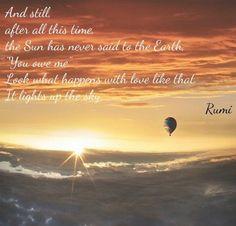 favorite Rumi poem