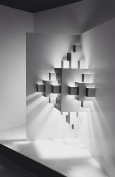 Well Well Designers | Pixel, 2013 | paper light installation