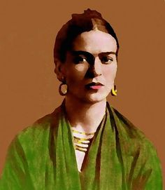Frida shaped and tinted by Armando Moncada Frida Kahlo Diego Rivera, Frida And Diego, Matisse, Kahlo Paintings, Frida Art, Mexican Artists, Great Artists, Les Oeuvres, Illustration