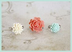 Lookie ... It's Spring at Chick's Picks March 14-17! Just Beautiful! Rings.