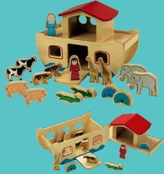 { Noah's Ark Playset }