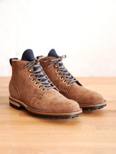"""Viberg: """"Service Boot in Snuff Kudu for gentrynyc """""""