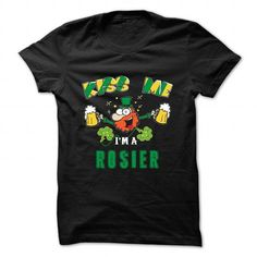 St Patrick - Kiss me - ROSIER - #gift for friends #hostess gift. SATISFACTION GUARANTEED => https://www.sunfrog.com/Camping/St-Patrick--Kiss-me--ROSIER.html?68278