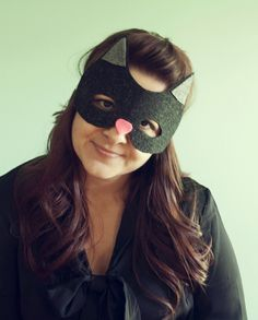 No Sew Cat Mask Tutorial
