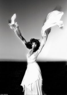 STEVIE NICKS 1981 ¿I knew Stevie was beautiful and talented but I didn¿t know how hysteri...