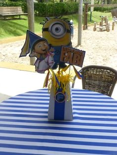 Minions Birthday Party Ideas   Photo 5 of 39   Catch My Party