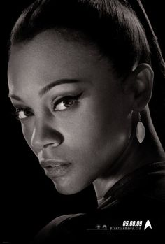 Star Trek (2009)  Photos with Zoe Saldana