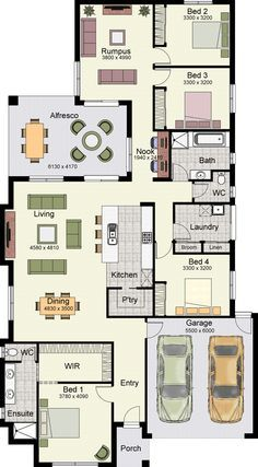 The Marcoola 269 by Hotondo Homes is a perfect floorplan for families