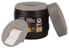 Reliance Products Hassock Portable Lightweight SelfContained Toilet colors may vary *** More info could be found at the image url.