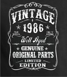 1986 30th Birthday gift Dirty ThirtyTurning 30 30 by BluYeti