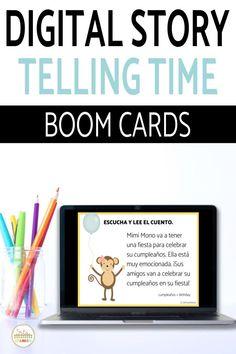 Have you tried BOOM Cards with your students? They're digital and self-checking, which means students get instant feedback, and you don't have to grade! They're self-grading! Your students can read, listen, and write to get practice! This set is perfect for your middle school and high school Spanish classes as they study telling time, el tiempo, or la hora! It's the perfect activity for homework, review, or even formative assessment! Click to see more and to try it out! Telling Time In Spanish, Middle School Spanish, Spanish Lesson Plans, Spanish 1, Formative Assessment, Comprehension Questions, Spanish Classroom, Class Activities, Ten