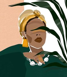 Black Girl Art, Black Women Art, Art Girl, Graphic Design Illustration, Graphic Art, Illustration Art, Illustrations, Cadre Diy, Afrique Art