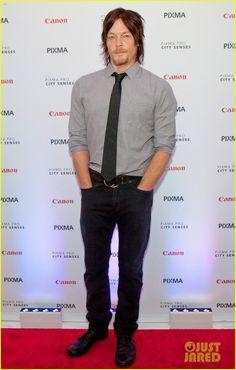 Norman Reedus: Canon PIXMA Pro City Senses Gallery Host | norman reedus canon pixma pro city senses gallery host 07 - Photo