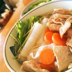 豚肉、大根、にんじん、水菜を入れてみました〜♡ - 158件のもぐもぐ - 無印良品のフォー by tobutori