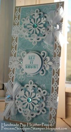 Let It Snow by Princessheather - Cards and Paper Crafts at Splitcoaststampers