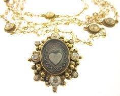 Virgin Saints and Angels- Sacred Heart Magdalena Necklace