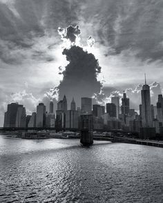 Approaching storm clouds begin to loom over Manhattan. The bit of shade is nice…