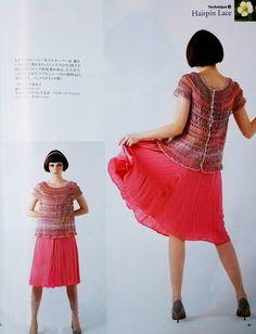 Hecho Ivelise manos: Blusa Crochet En Clamp