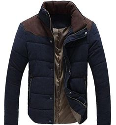 Stylish Men's Cotton Casual Slim Fit Winter Comfortable Coat Jackets