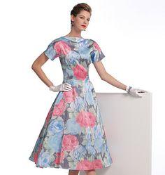 V1084 Misses' Dress | Average | Vintage 1950s