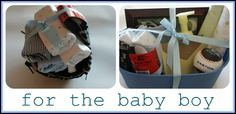 10 Gifts to Make for Baby Boys... personally I love handmade gifts!