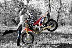 Dirtbike Engagement photo