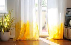 DIY Vorhänge ombre
