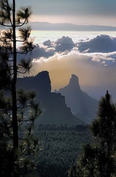 Sunrise, Canary Islands - Roque Bentayga
