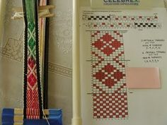 Patterns for Inkle loom - Link for book The Weaver's Inkle Pattern Directory - http://www.carmel.lib.in.us/pinterest/p.cfm?isbn=9781596686472