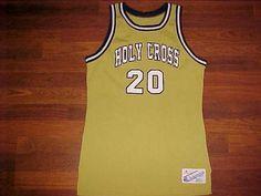 Champion NCAA Patriot League Holy Cross Crusaders 20 Men Basketball Jersey M #Champion #HolyCrossCrusaders
