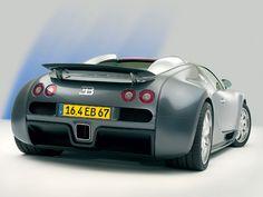 Foto Trasero Bugatti Veyron Cupe