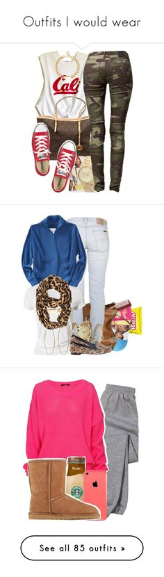 """""""Outfits I would wear"""" by taylanax0 ❤ liked on Polyvore featuring Red Herring, MICHAEL Michael Kors, Converse, Michael Kors, 2nd One, Eos, AERIN, Nicki Minaj, Mason Pearson and Nudie Jeans Co."""